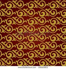 seamless pattern east asian motifs ornament stock vector 286826831