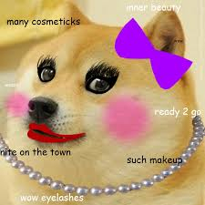 Create Doge Meme - i wear shiba inu semi gloss lip balm by katieuber san meme center