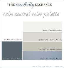 office craft room paint color palette it mondaygray blue bedroom