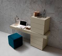 Wooden Secretary Desk by Contemporary Secretary Desk Wooden Lacquered Wood I Night