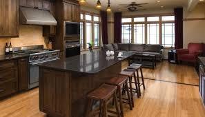 Dark Cabinets With Light Floors Dark Kitchen Cabinets With Light Wood Floors Wood Floors Exitallergy