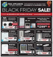 black friday appliances trail appliances canada flyers