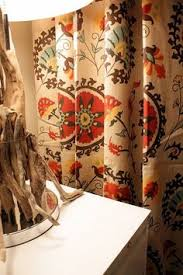 Suzani Curtain I Ve Got To Get These Gold And Suzani Cotton Curtain World