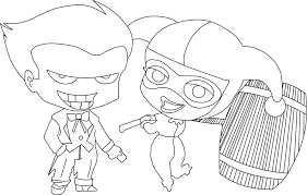 harley quinn coloring pages harley quinn kids online harley quinn