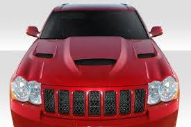 2010 jeep grand cherokee duraflex 113007 2005 2010 jeep grand cherokee hellcat styled hood