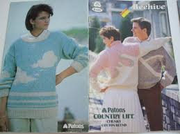 second silver 475 country life chunky knitting patterns patons