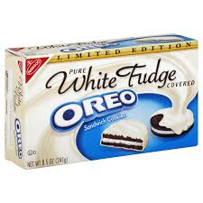 where to buy white fudge oreos nabisco oreo white fudge covered chocolate sandwich cookies 8 5 oz