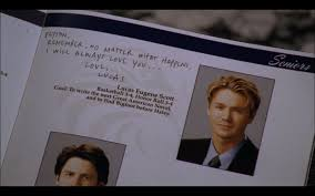 find yearbooks lucas s senior yearbook peyton s actual book oth