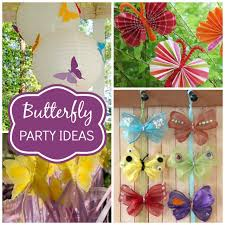butterfly birthday theme birthday ideas for