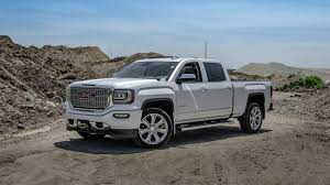 lifted white gmc 2016 gmc sierra denali white frost youtube