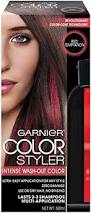 Halloween Hair Color Washes Out - red temptation