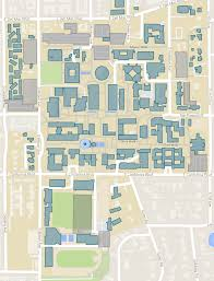 University Of Michigan Parking Map by Campus Maps Caltech