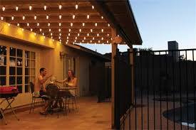 Patio Lighting Backyard Patio Event Lighting