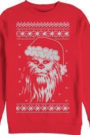 wars sweater faux chewie claus wars sweater