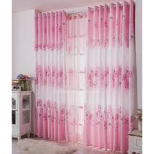 Pink And White Curtains For Nursery Chic Ideas Pink And White Curtains Patterned Dreamy Princess