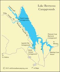 Lake Berryessa Spanish Flat Campground Lake Berryessa