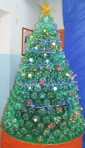 Cheap Christmas Decorations Australia 18 Clever Christmas Trees Created With Recycled Materials