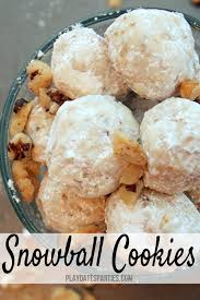 12 days of christmas cookies snowballs