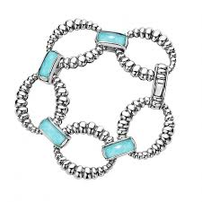 gemstone link bracelet images Link bracelet maya lagos jewelry jpg