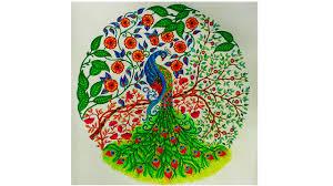 colouring book the secret garden peacock youtube