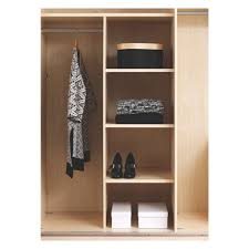 Large Shoe Cabinet With Doors by Wardrobe Wardrobe With Open Shelves Shirley Walnut Medium Brown