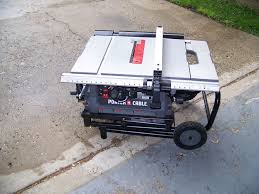 Job Site Table Saw Porter Cable Job Site Table Saw Pcb220ts Review Tools In