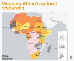 African Countries Map Mapping Africa U0027s Natural Resources Al Jazeera
