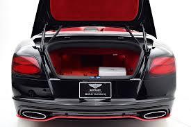 red bentley 2017 2017 bentley continental gt speed convertible black edition