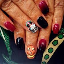 halloween inspired nail art gallery nail art designs