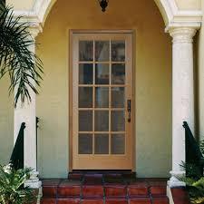 15 Lite Exterior Door Front Doors Mesmerizing Front Door Slab For Trendy Home Steel