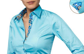 turquoise women shirt twisted floral print lining 89 90 the
