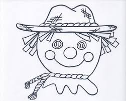 Halloween Scarecrow Coloring Pages Scarecrow Hat Cliparts Free Download Clip Art Free Clip Art