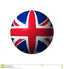 sphere with flag of uk stock illustration image 79115080