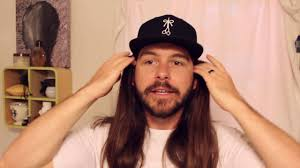cool long hair how to wear a hat with long hair youtube