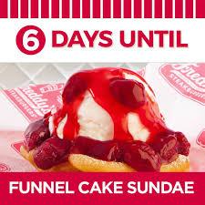 freddy u0027s funnel cake sundae makes its freddy u0027s frozen custard