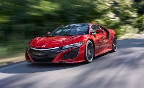 lexus lfa vs nsx 2017 acura nsx supercar full test u2013 review u2013 car and driver