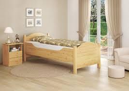Schlafzimmer M El Aus Holz Erst Holz 60 40 10 Or Seniorenbett Extra Hoch Bettgestell