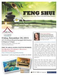Feng Shui Maui U0027s Feng Shui Event By Catherine Mccandless Areaa Aloha