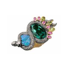 tourmaline opal opal rings collections the jewellery editor