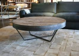 round wood coffee table rustic coffee tables ideas awesome round reclaimed wood coffee table