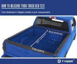 dodge ram crew cab bed size tyger tri fold tonneau cover fits 02 15 dodge ram 1500 03
