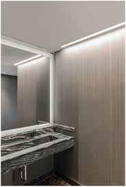 bathroom modern light fixtures for bathroom truline adds a crisp