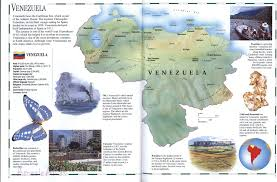 Spanish Map Of South America by Venezuela Mapfree Maps Of Us