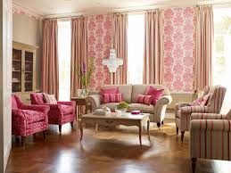 pink living room ideas wonderful pink living room with patern wall mural idea klubicko org
