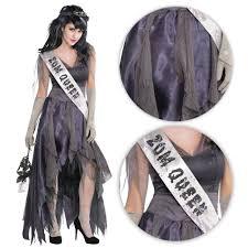 ladies homecoming queen prom zombie halloween fancy dress corpse