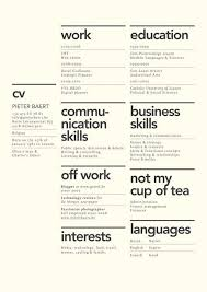 layout cv 7 creative resume design layouts that will set you apart