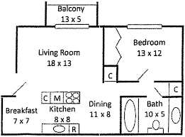 Two Bedroom Floor Plans One Bath Floor Plans U2013 Wilmington De Apartments For Rent
