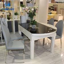 extendable glass dining table extendable glass dining table