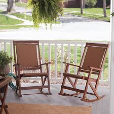 Folding Rocking Chair Astonishing Outdoor Folding Rocking Chair For Front Porch Ideas