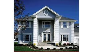 neoclassical home plans home plan homepw03852 2416 square foot 4 bedroom 2 bathroom